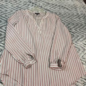 White striped Blouse/tunic